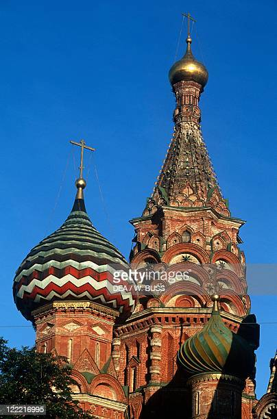 Russia Moscow Red Square Saint Basil's Cathedral