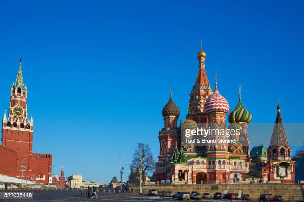 Russia, Moscow, Red Square, St Basil's Cathedral