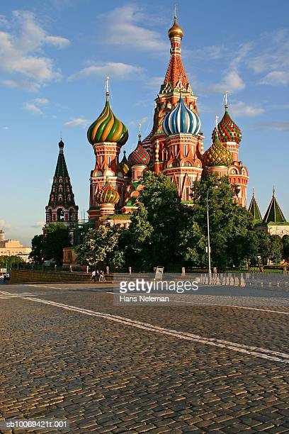 Russia, Moscow, St. Basil's Cathedral