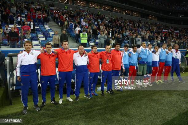 Russia national team 2019 UEFA European Under21 Championship Russia vs Serbia Group 7 The Russian team lost to Serbia team 32