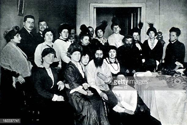 Russia Rasputin and his court of women
