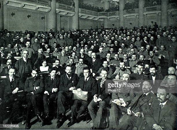 Russia Russian Revolution The council of labor deputies and soldiers