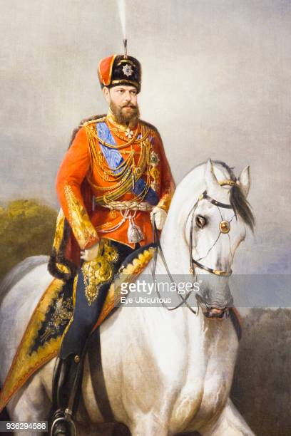 Russia Saint Petersburg Tsar Alexander III portrait Catherine Palace Tsarskoye Selo Pushkin