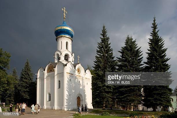 Russia Sergiev Posad Moscow area Trinity St Sergius Monastery 14th19th century The Church of the Holy Spirit