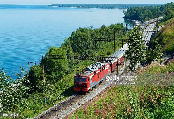 Russia, Siberia, Baikal Lake, Trans-siberian train