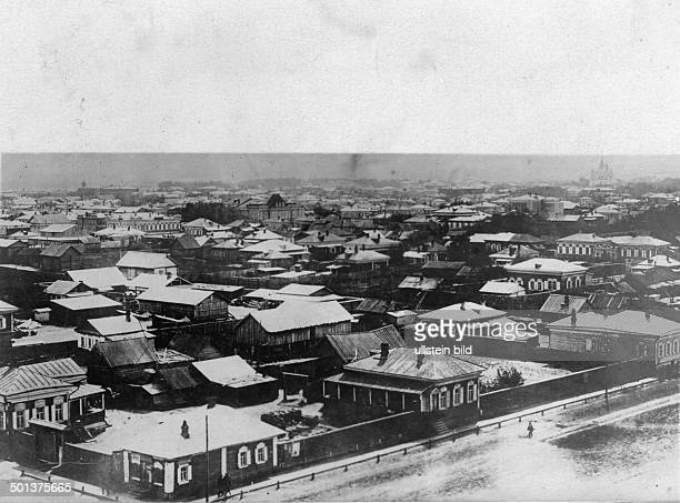 Town of Blagoveshchensk - probably in the 1910s