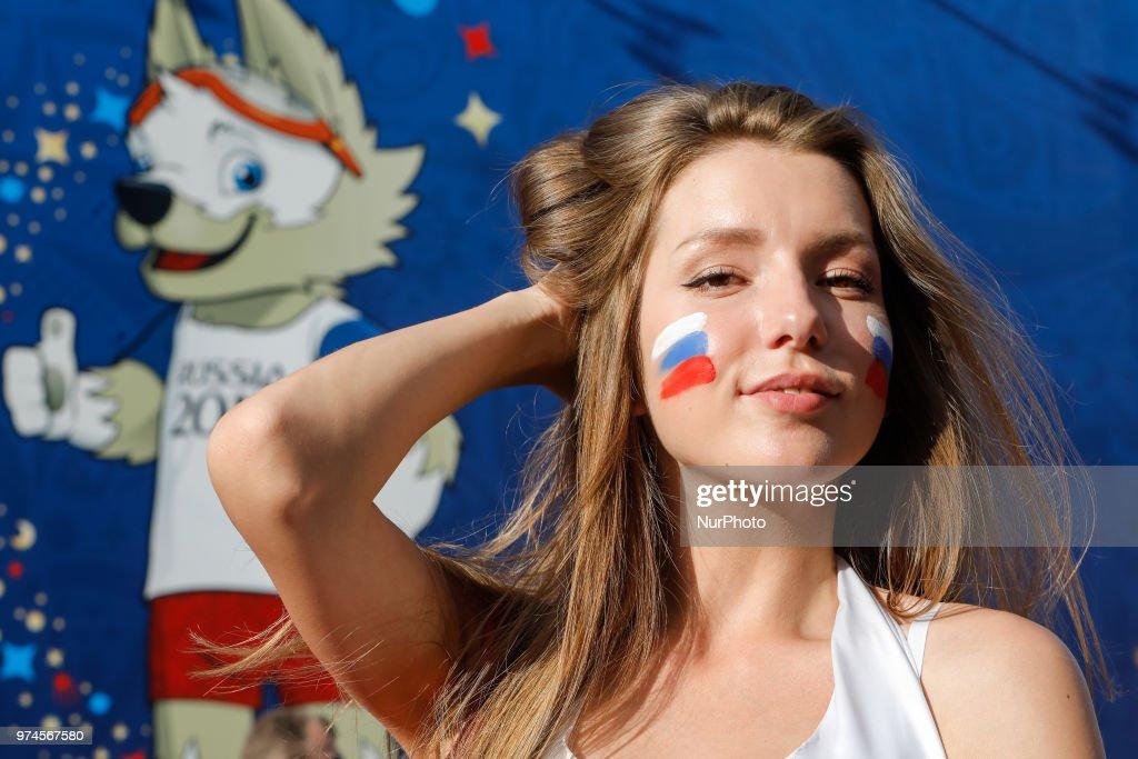 Russia v Saudi Arabia: Group A - FIFA Fan Festival : News Photo