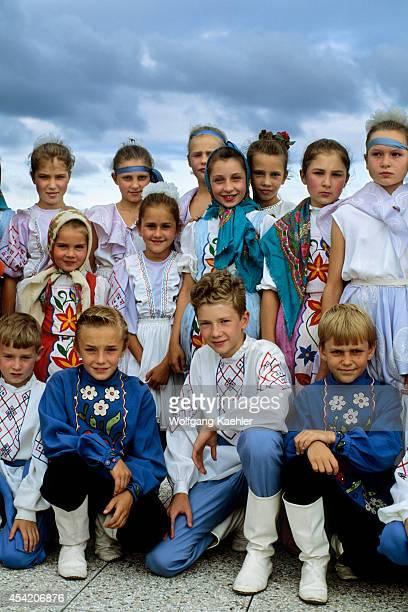 Russia Vladivostok Russian Children Folklore Group