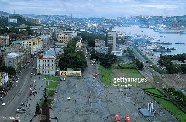 Russia Vladivostok View Of Square For The Fighters Of The Revolution
