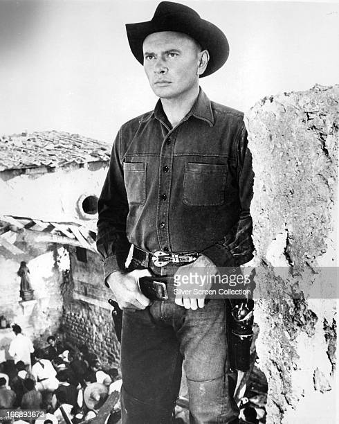 Russian actor Yul Brynner as Chris Adams in 'The Magnificent Seven' directed by John Sturges 1960
