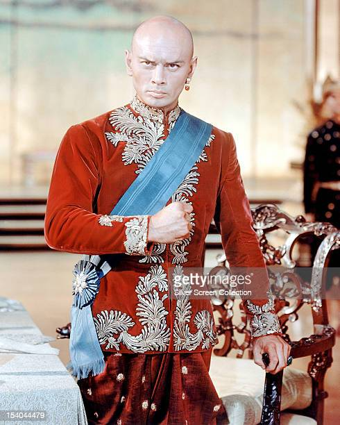 Russian actor Yul Brynner as the King Of Siam in 'The King And I' directed by Walter Lang 1956