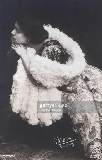 Russian actress Alla Nazimova circa 1910