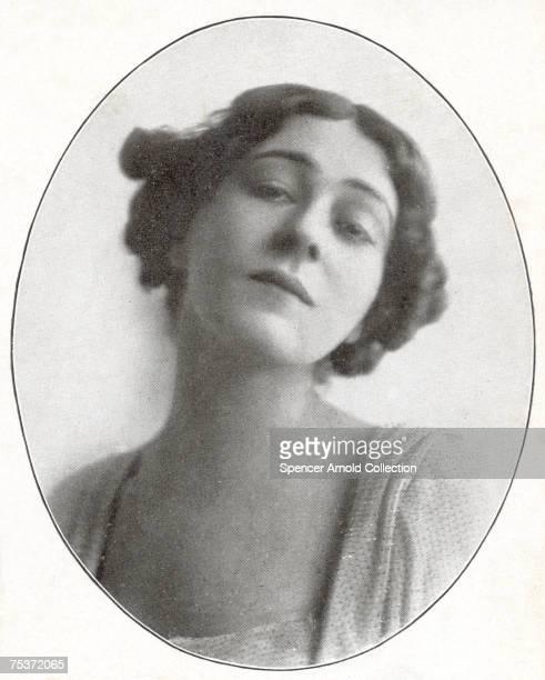 Russian actress Alla Nazimova circa 1915