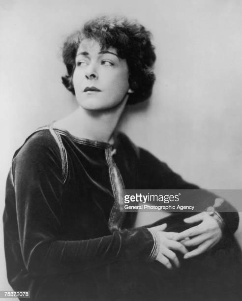 Russian actress Alla Nazimova circa 1920