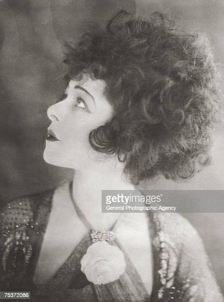 Russian actress Alla Nazimova stars as tragic courtesan Marguerite Gautier in the film 'Camille' based on the book 'La Dame aux Camelias' by...