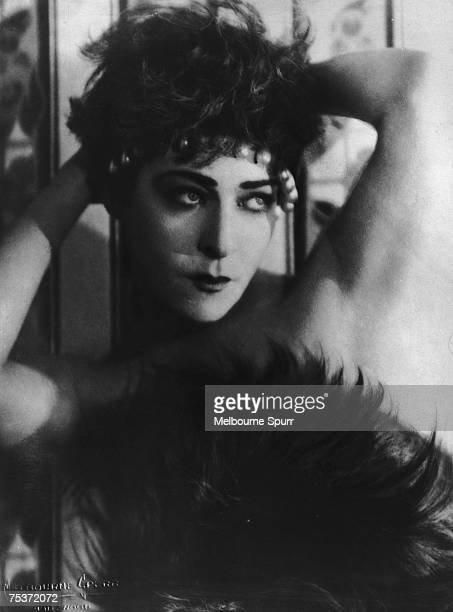 Russian actress Alla Nazimova stars in the First National film 'My Son' 1925