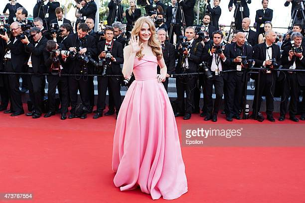 Russian actress Svetlana Khodchenkova attends the Premiere of 'Carol' during the 68th annual Cannes Film Festival on May 17 2015 in Cannes France