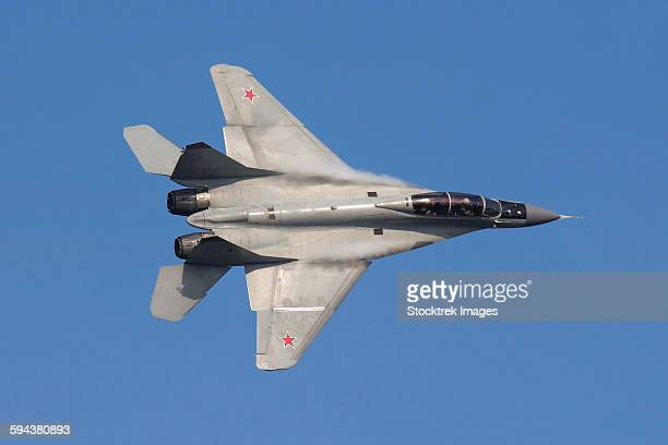 A Russian Air Force MiG-35 fighter plane.
