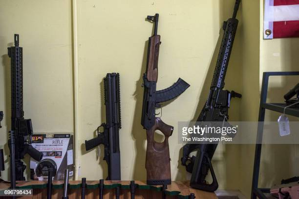 Russian AK47 at TW Firearms in Leesburg VA on August 22 2014 After the Obama administration added Russianmade AK47s to sanctions against Russia for...