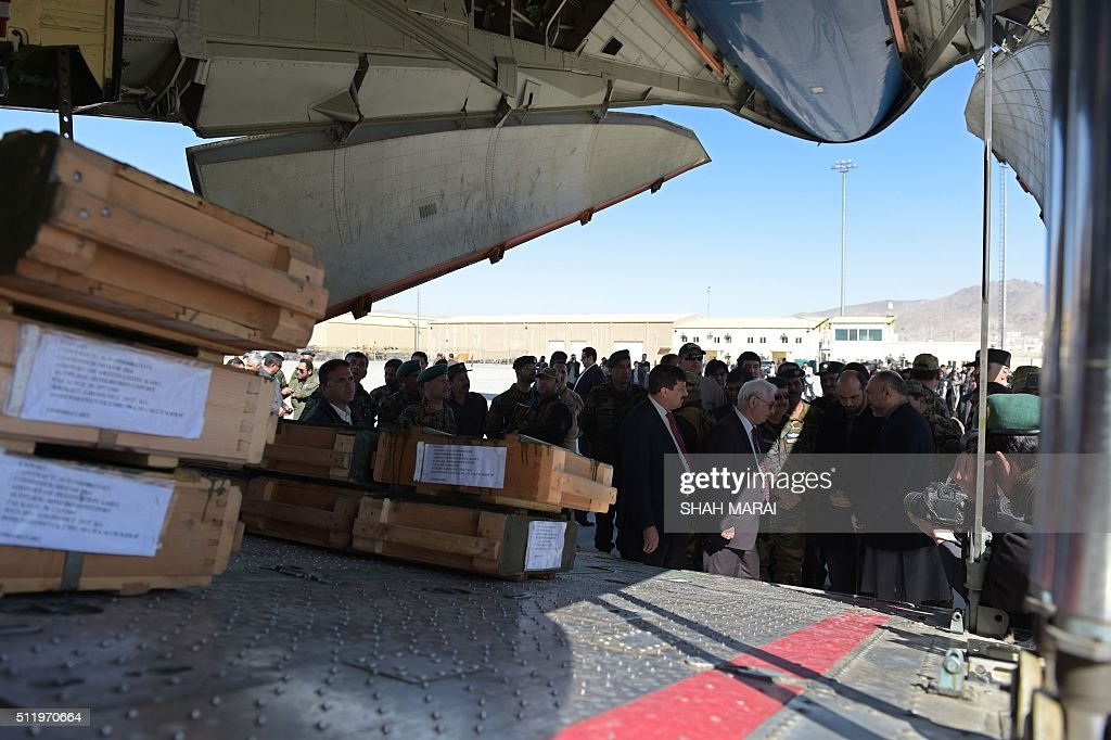 AFGHANISTAN-RUSSIA-DIPLOMACY : News Photo