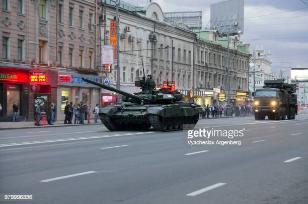 russian armed forces on the streets of moscow, russia - argenberg stock pictures, royalty-free photos & images