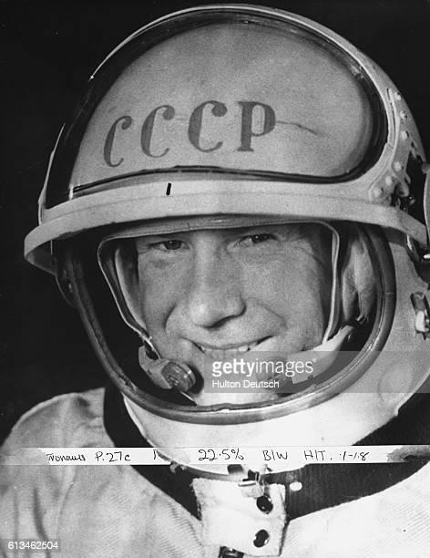 Russian Astronaut Aleksey A Leonov