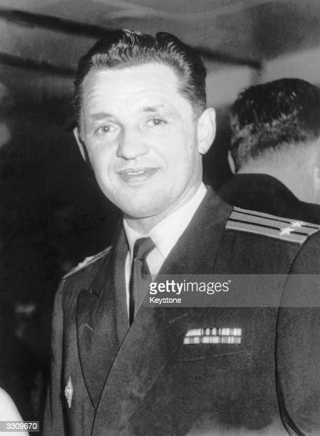 Russian attache Eugene Ivanov whom London solicitor Michael Eddowes claimed had asked Christine Keeler to obtain information from British war...