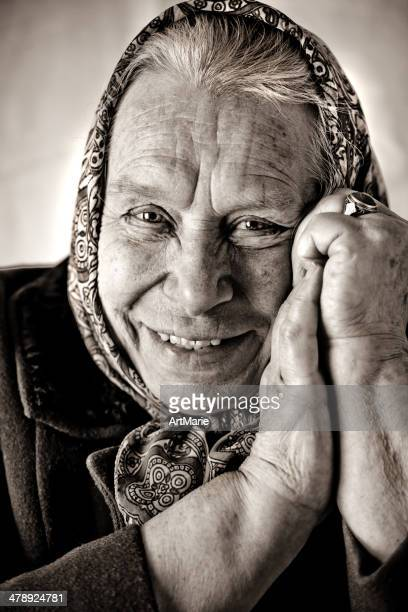 russian babushka - russian culture stock pictures, royalty-free photos & images