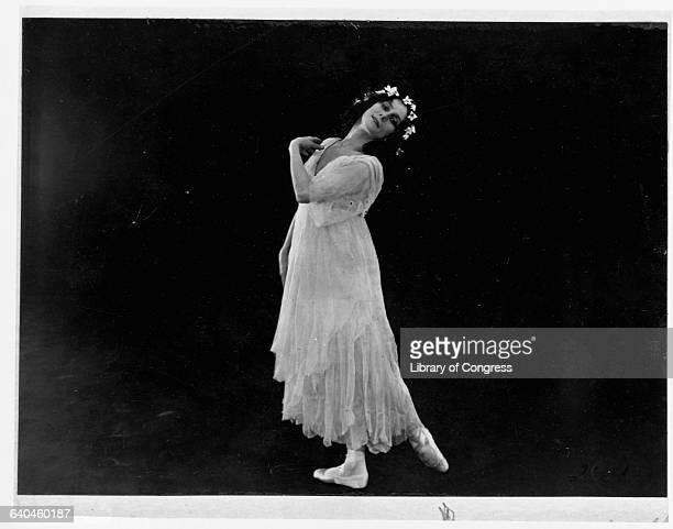 Russian Ballerina Anna Pavlova