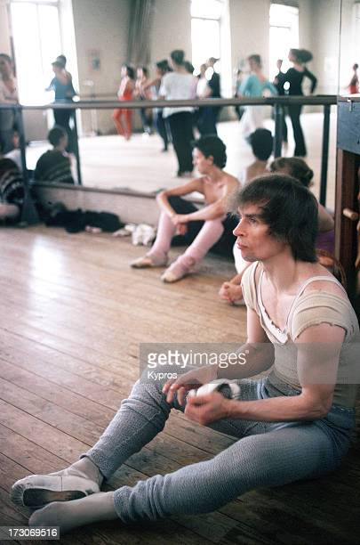 Russian ballet dancer Rudolf Nureyev circa 1980