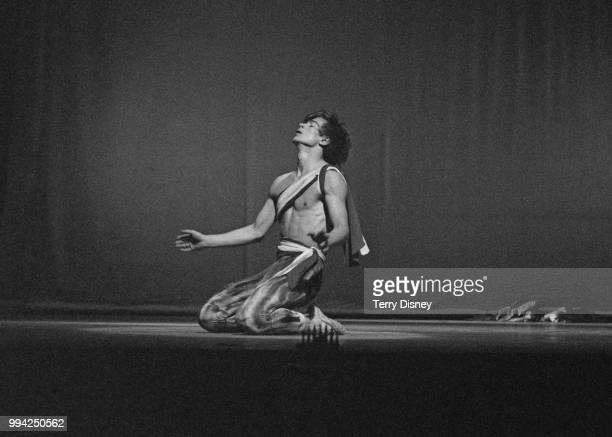 Russian ballet dancer Rudolf Nureyev rehearses for his London debut at the Theatre Royal on Drury Lane 2nd November 1961 He will be taking part in a...