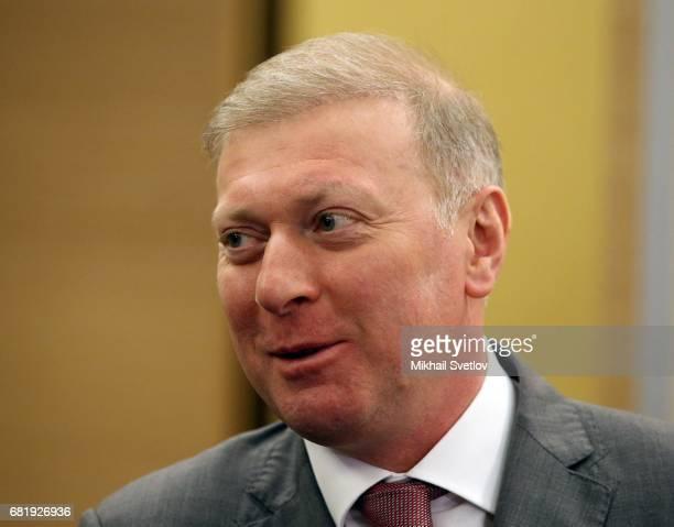 Russian billionaire and businessman Musa Bazhayev attends RussianPalesninian meeting at Bocharov ruchey state residence at Black Sea resort of Sochi...