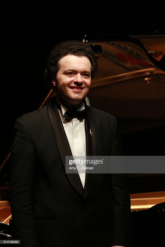Pianist Evgeny Kissin Performs At The Barbican Centre In London : News Photo