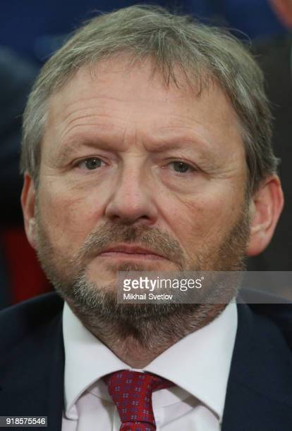 Russian businessman and Candidate for Presidential Elections 2018 Boris Titov attends the meeting of the Extended Board of the Prosecutor General's...