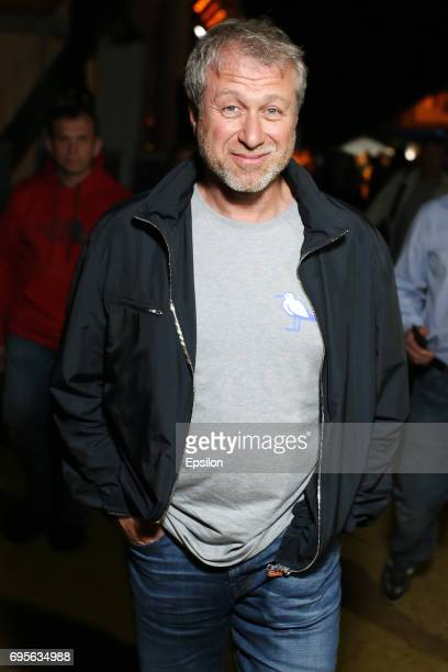 Russian businessman Roman Abramovich attends a RuArts Foundation cocktail party at the 28th Kinotavr Film Festival on June 11 2017 in Sochi Russia