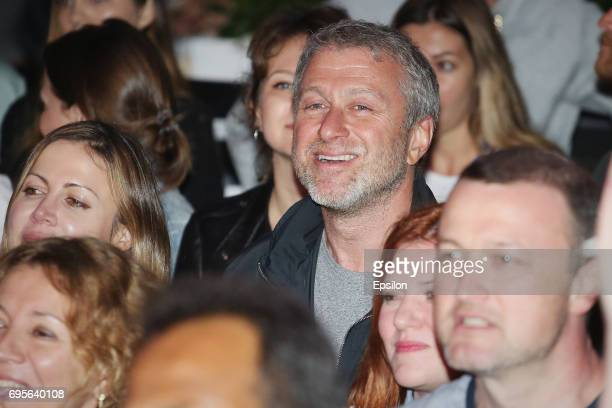 Russian businessman Roman Abramovich attends the Zorkiy the Ladies concert at the 28th Kinotavr Film Festival on June 13 2017 in Sochi Russia