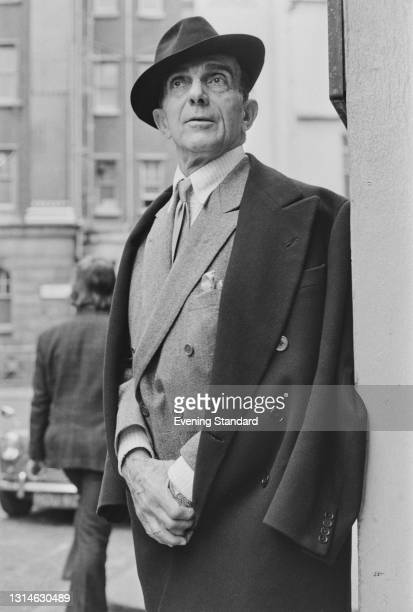 Russian choreographer and ballet dancer Léonide Massine , UK, 24th May 1974.