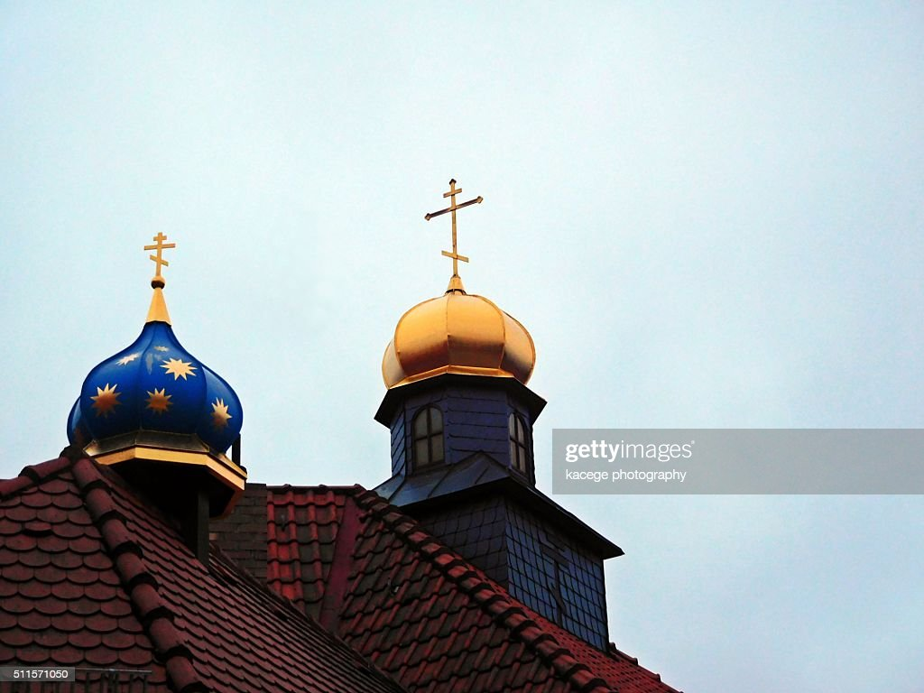 Russian Church High Res Stock Photo Getty Images