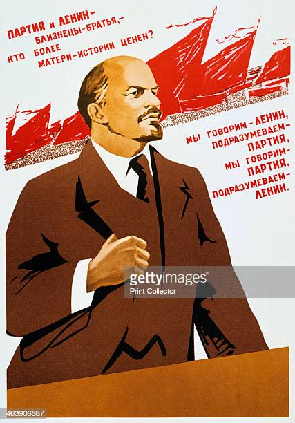 Russian Communist Party poster 1940