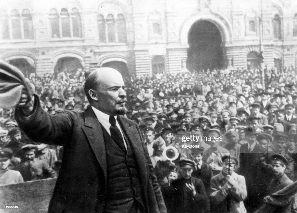 Vladimir Ilyich Lenin : News Photo
