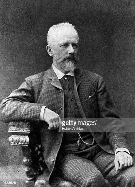 Russian composer Peter Tchaikovsky His works include six symphonies and three piano concertos only two of which are finished a violin concerto and...
