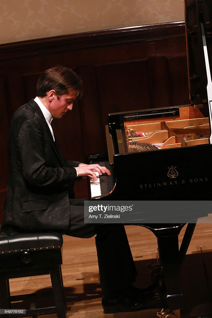 Russian concert pianist Yevgeny Sudbin performs a solo piano
