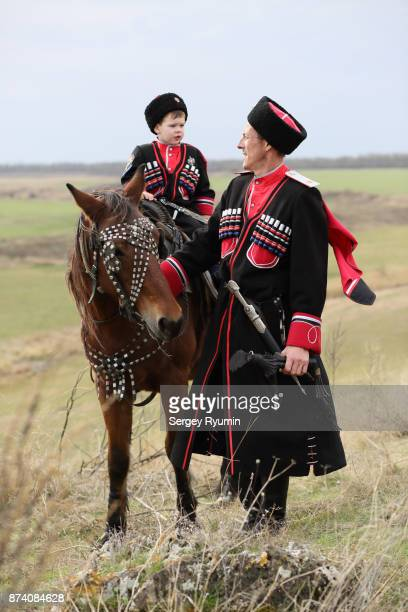 russian cossacks. - russia stock pictures, royalty-free photos & images