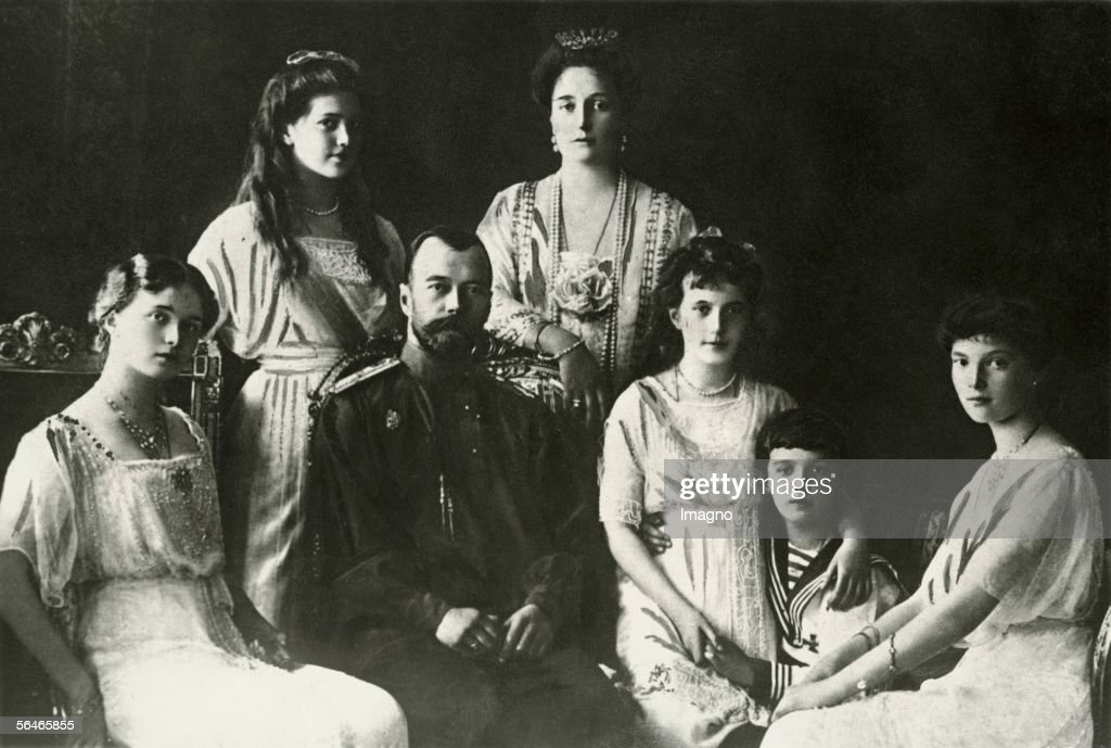 Russian Czar-Family : News Photo