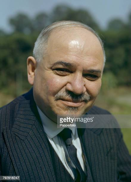 Russian diplomat Ivan Maisky the Soviet Union's Ambassador to the United Kingdom pictured in England in June 1943
