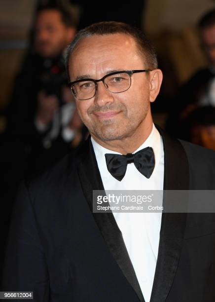 Russian director and Jury Member Andrey Zvyagintsev attends the screening of 'Leto' during the 71st annual Cannes Film Festival at Palais des...