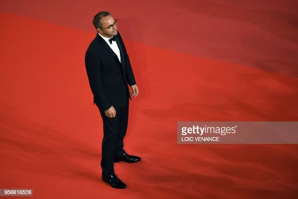 Russian director and member of the Feature Film Jury Andrey Zvyagintsev arrives on May 9 2018 for the screening of the film 'Leto ' at the 71st...