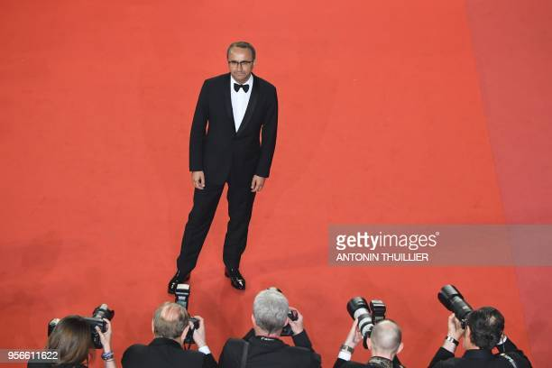 Russian director and member of the Feature Film Jury Andrey Zvyagintsev poses as he arrives on May 9 2018 for the screening of the film 'Leto ' at...