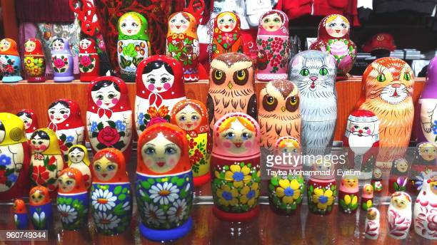 russian dolls for sale in store - eyeem collection stock pictures, royalty-free photos & images