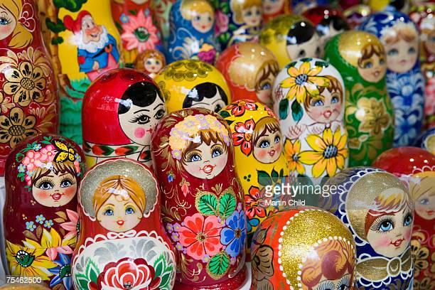 Russian dolls, Prague, Czech Republic